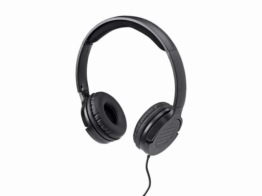 a6252d25863 Enjoy amazing musical clarity in a featherweight package using these Hi-Fi  Lightweight On-Ear Headphones from Moonrise! These on-ear headphones tip  the ...