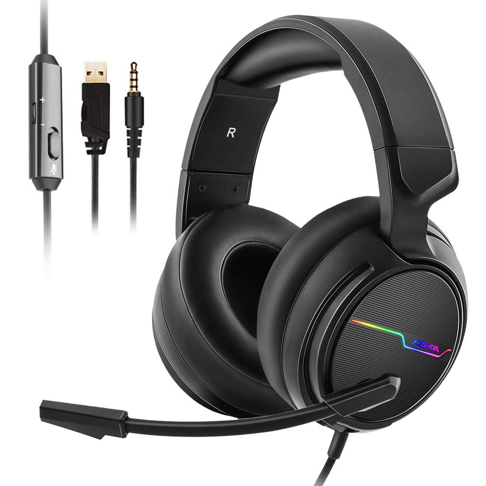 Jeecoo Stereo Gaming Headset for PS4, Xbox One