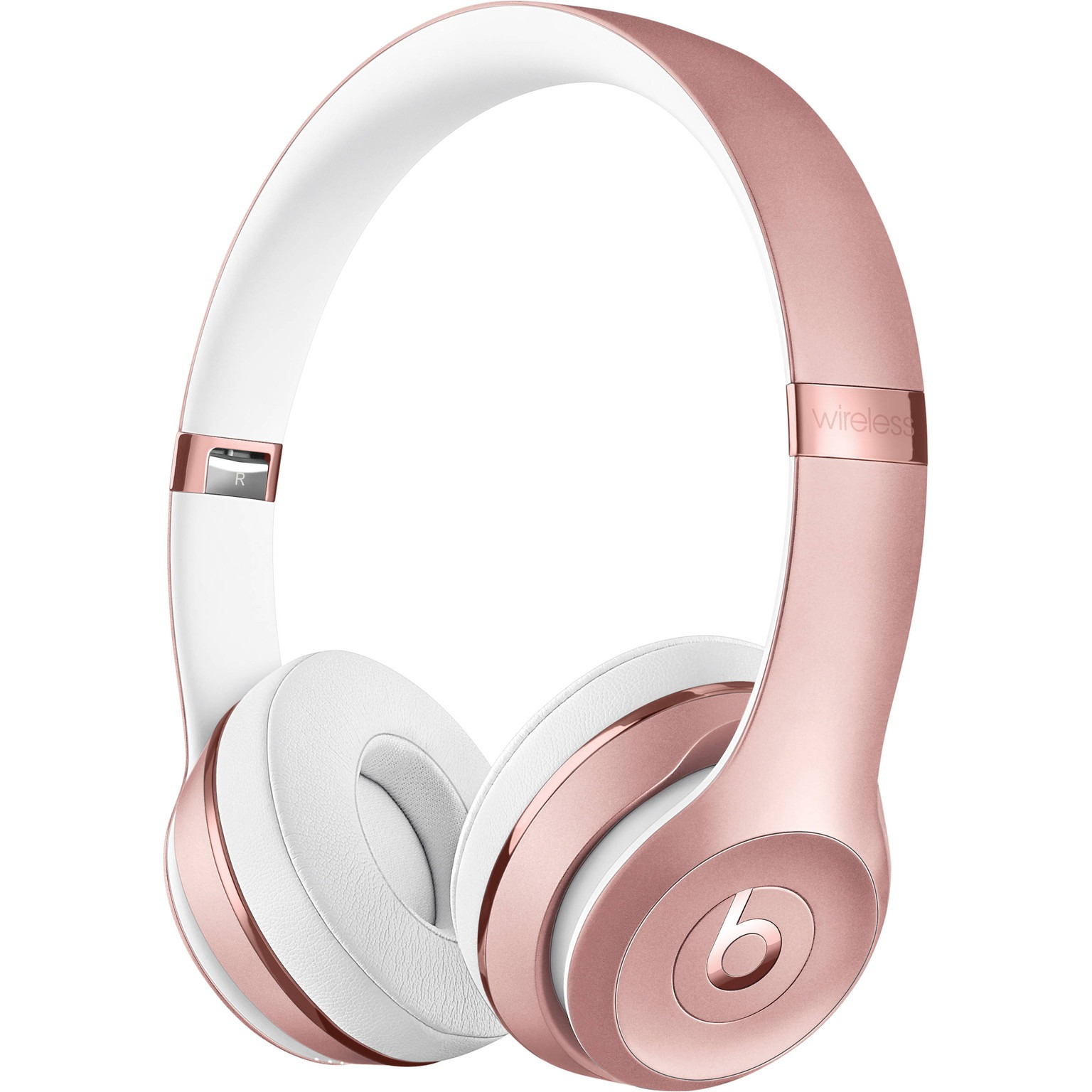 Beats Solo3 Wireless Rose Gold Bluetooth Headphones in 2021