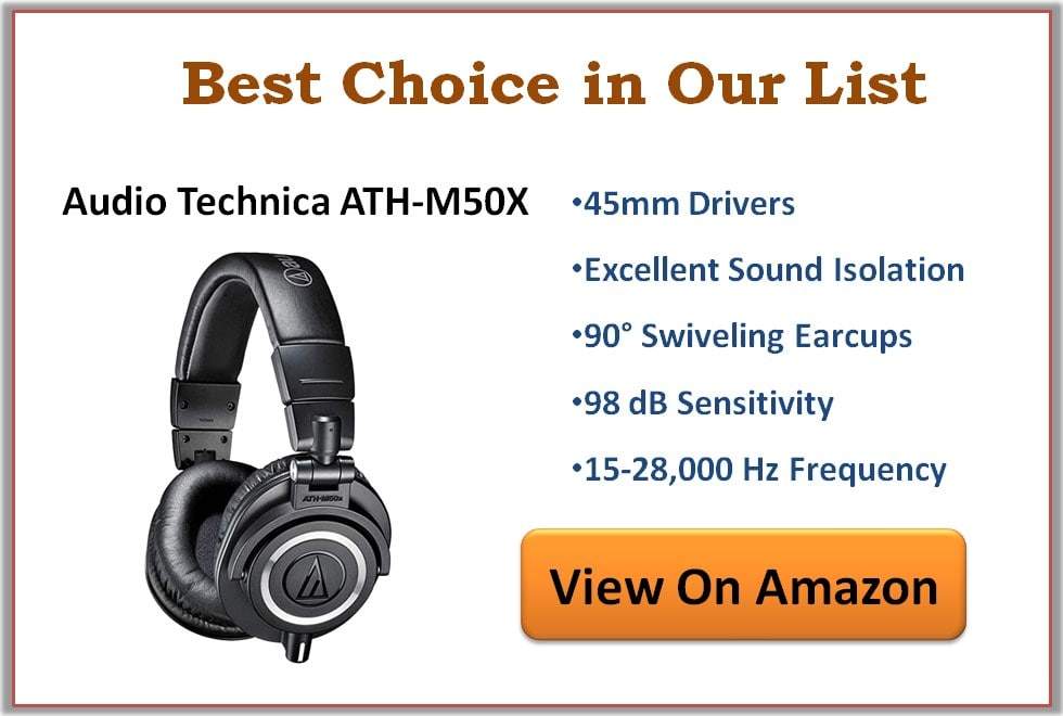 Best Studio and Home Recording Headphones 2020
