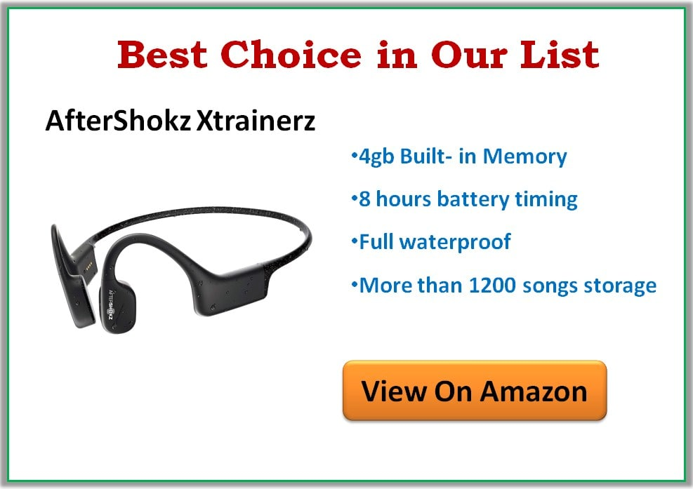 Best Underwater Bluetooth Headphones For Swimming in 2020