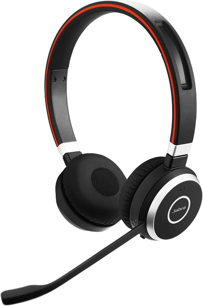 Wireless Headset With Microphone
